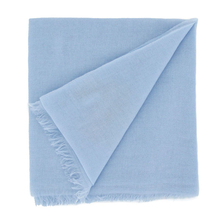 Extra light cashmere stole - Light blue - Muskhane