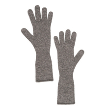 Long cashmere gloves - Taupe