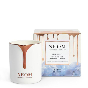 De-Stress Intensive treatment Candle - Lavender, Jasmine & Rosewood - Neom Organics