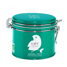 Spicy Citrus fruits green tea - Lov Organic