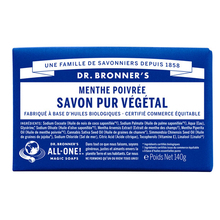 Peppermint Pure-Castile bar soap - Dr. Bronner