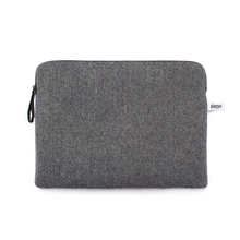 "Zip case for Macbook pro 13"" / air / retina - Grey herringbone - Pijama"