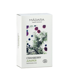 Cranberry & Juniper body soap - Madara