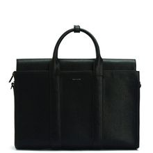 Parallel briefcase - Black - Matt & Nat