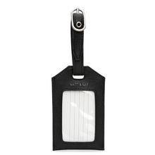 Trotter luggage tag  - Black - Matt & Nat