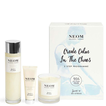 Create Calm in the Chaos 3 step program set - Neom Organics