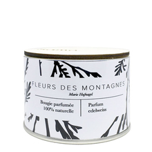 Mountain's Flowers Candle - Edelweiss - Samo