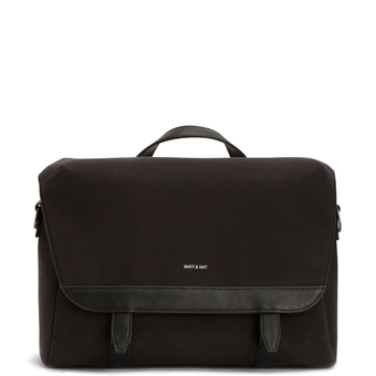 Martel briefcase - Black - Matt & Nat