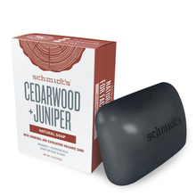 Cedarwood + Juniper soap - Schmidt's
