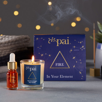 In your Element gift set - Fire - Pai