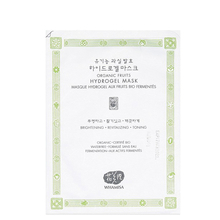 Organic fruits hydrogel Mask - Revitalizing - Whamisa