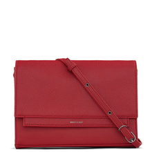 Silvi clutch - Red - Matt & Nat