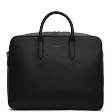 Elon briefcase - Black - Matt & Nat