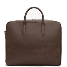 Elon briefcase - Chestnut - Matt & Nat