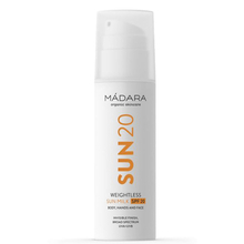 Weightless sun milk SPF20 - Madara