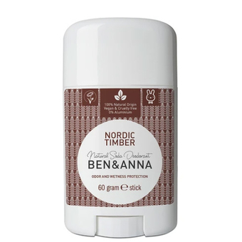 Nordic Timber natural deodorant stick (Cedarwood) - Ben & Anna