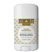 Indian Mandarin natural deodorant stick - Ben & Anna