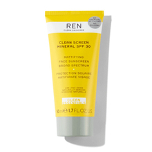 Mattifying face sunscreen SPF30 - Ren