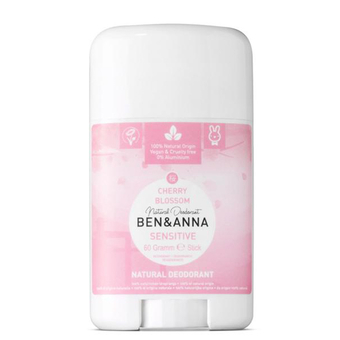 Cherry Blossom sensitive deodorant stick - Ben & Anna