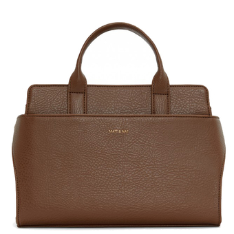 Gloria SM satchel - Brick - Matt & Nat