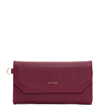 Mion wallet - Garnet - Matt & Nat