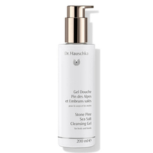 Stone Pine & Sea Salt cleansing gel for body - Dr. Hauschka