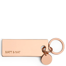 Bene keychain - Rose gold