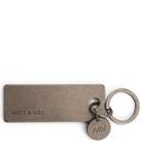 Bene keychain - Antique nickel - Matt & Nat