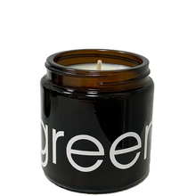 GREEN scented Candle - Tiare blossom - Ecocentric