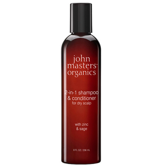 2-in-1 shampoo & conditioner for dry scalp - John Masters Organics