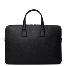 Belem briefcase - Black - Matt & Nat