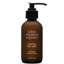 Foaming face wash with Rose & Linden flower - John Masters Organics
