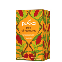 Three Ginger - To uplift & warm - Pukka