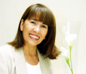 Elyane Moschos founder of 2moss luxury organic hair care brand