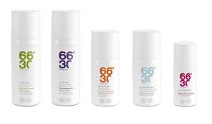 Les soins cosmétique biologiques visage pour hommes 66°30