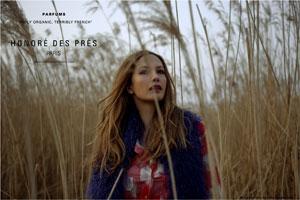 Honoré des Prés niche perfume brand ad