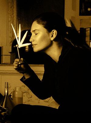 Perfume artist Olivia Giacobetti has created the Honore des Pres organic perfumes