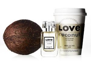 Love Coconut organic eau de parfum by Honoré des Prés