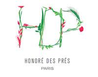 Honore des pres luxury organic perfume brand logo