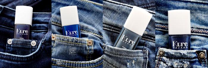 Kure Bazaar blue jeans nail polish collection