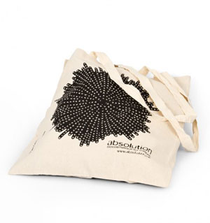 Absolution organic cotton shopping bag