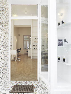 Less is More natural hair salon and organic hair beauty institute in Vienna