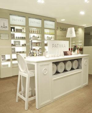 Boutique de cosmétique bio Patyka à Paris
