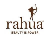 Logo de la marque de beauté naturelle du cheveux Rahua Amazon Beauty
