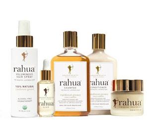 La gamme de shampooing et produits de soin naturels pour cheveux Rahua