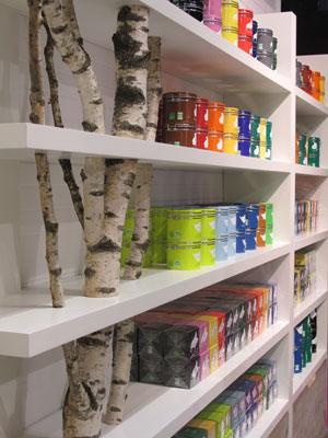 Collection des thés biologiques Lov Organic dans la boutique de la marque
