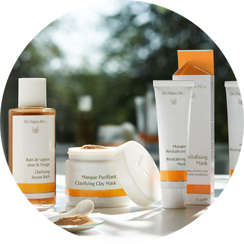 Buy Dr. Hauschka organic skincare and natural beauty products