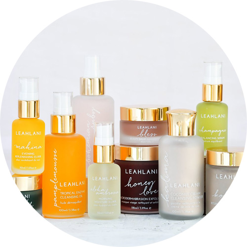 Buy Leahlani Skincare natural organic skincare from Hawai