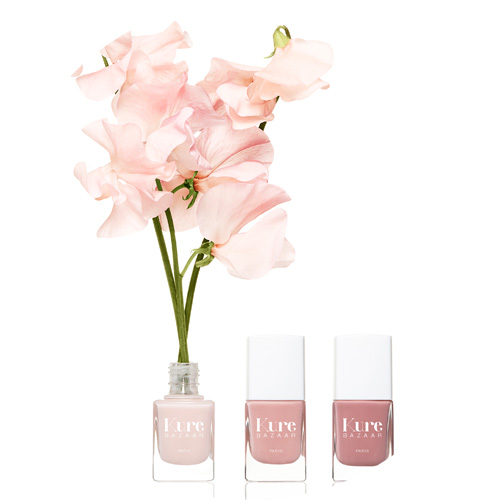 Buy Kure Bazaar natural eco nail lacquers and vanishes